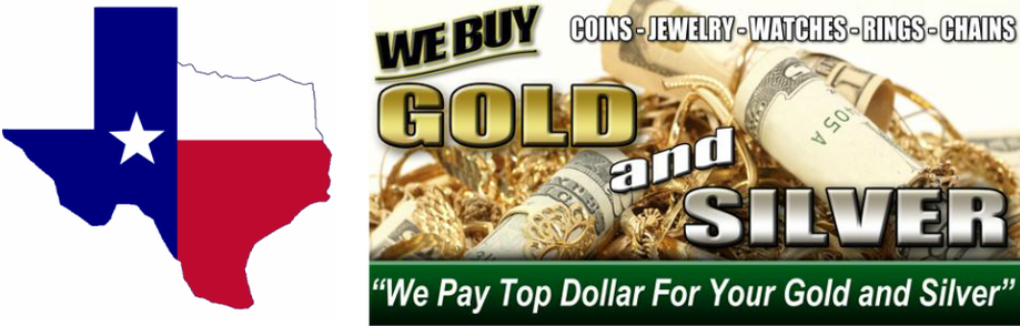 Lone Star Gold and Silver Buyers -- We Pay Top Dollar for Gold, Silver, and Platinum in Amarillo, Texas